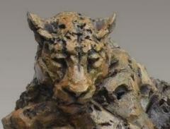 leopard,bronze,chapon,arbre,gambino,dimensions,