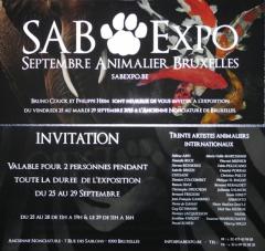 Bruxelles,exposition,animaliére, gambino,nonciature