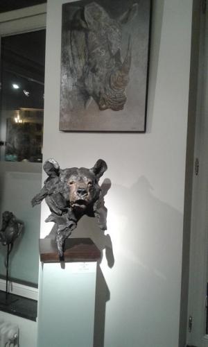 baribal SAB,bronze,ours,gambino