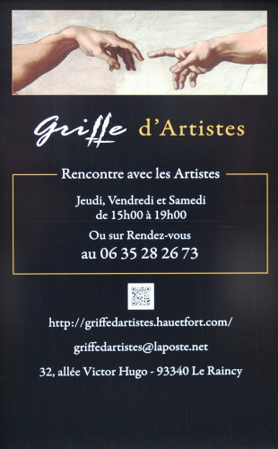 griffe,artistes, raincy,gambino,